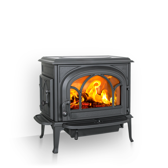The Jotul F500 has had a mild redesign to modernize the look of this incredible work horse and most popular cast-iron stove we sell.