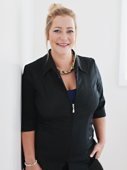 Jaimie Jolly, permanent beauty expert, and co-owner of Thistle + Bloom