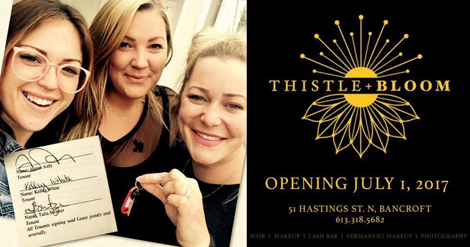 Jaimie opened Thistle + Bloom in 2017, in partnership with Kelly White and Talia Switzer.