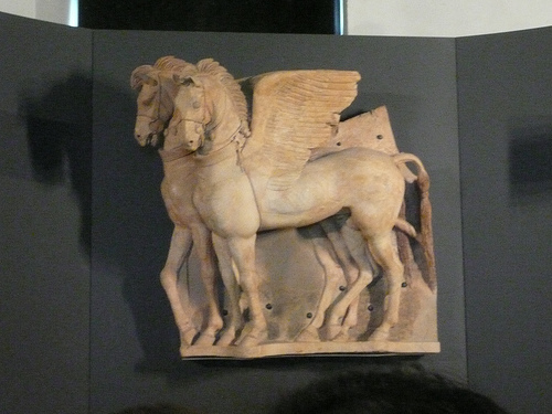 Winged Horses from The Temple of the Queen's Altar in Tarquinia