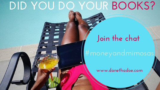 Doing your bookkeeping doesn't have to be boring!  Join the party  and learn why creating a financial plan for your business is FUN. #moneyandmimosas