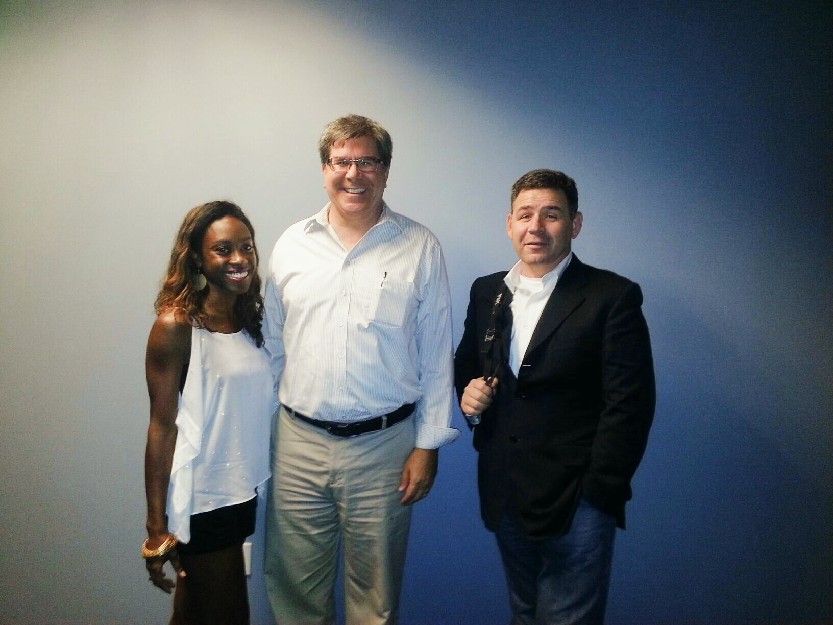 Hanging out with Doug Skinner of Honest Intentions and Gary Fandrick, CMO of Kashoo.