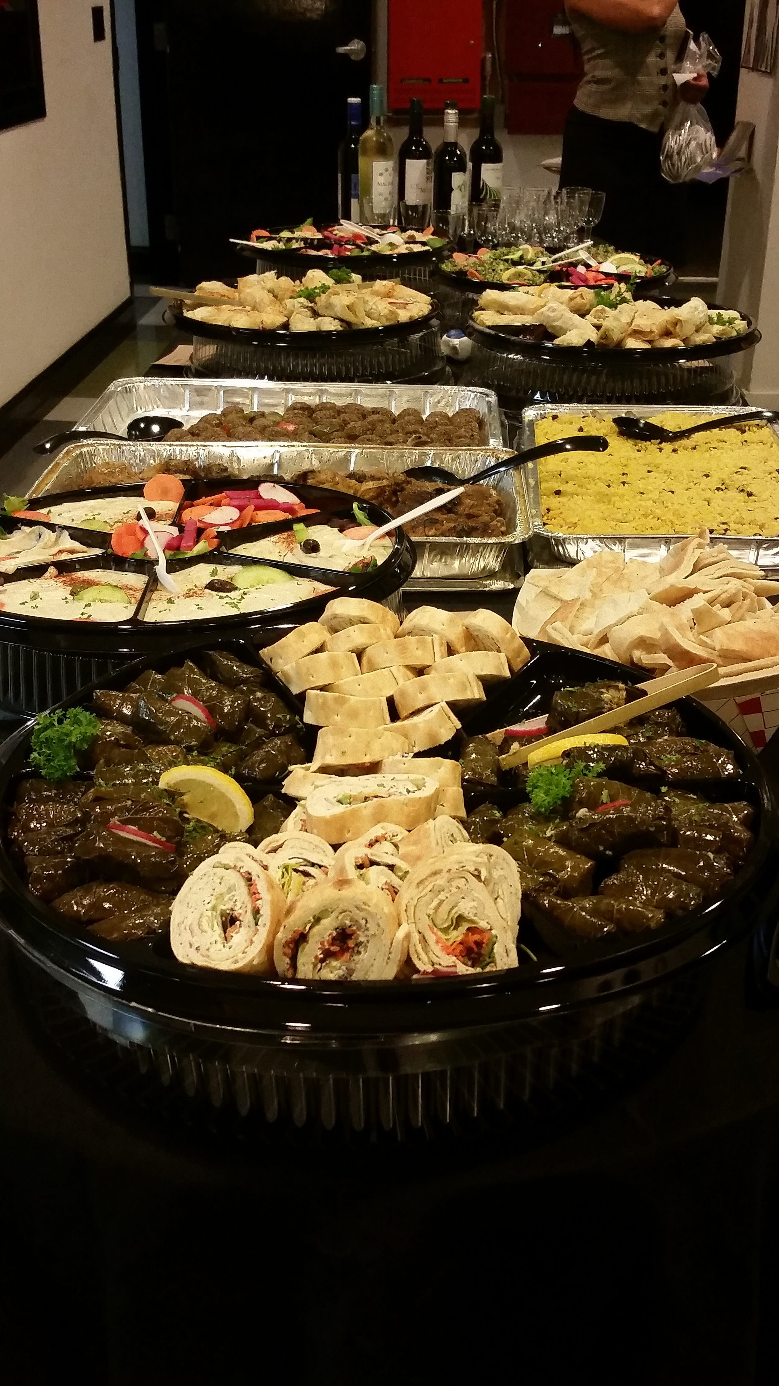 Delicious spread. Thank you, CalCPA!