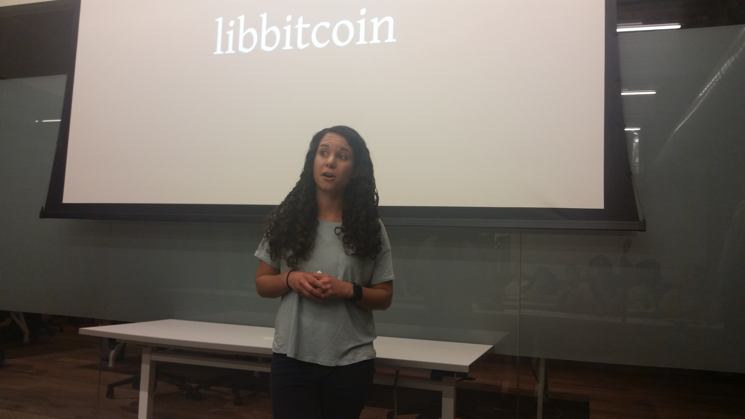 Denise Terry, co-organizer for SF Bitcoin Devs. She's incredibly inspiring!
