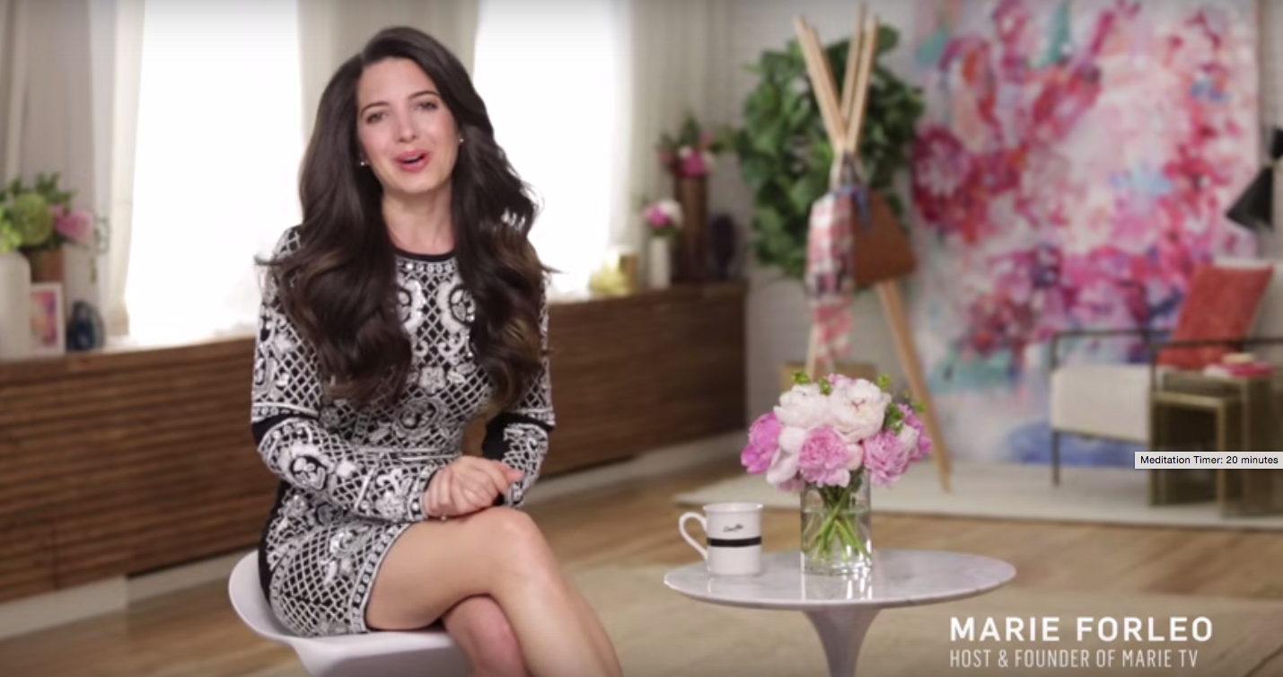 Marie Forleo, founder and creator of Marie TV and B-School (a program that teaches women how to run successful online-based businesses), has generated over $40 million in revenue for her business. And looks hot doing it. www.marieforleo.com