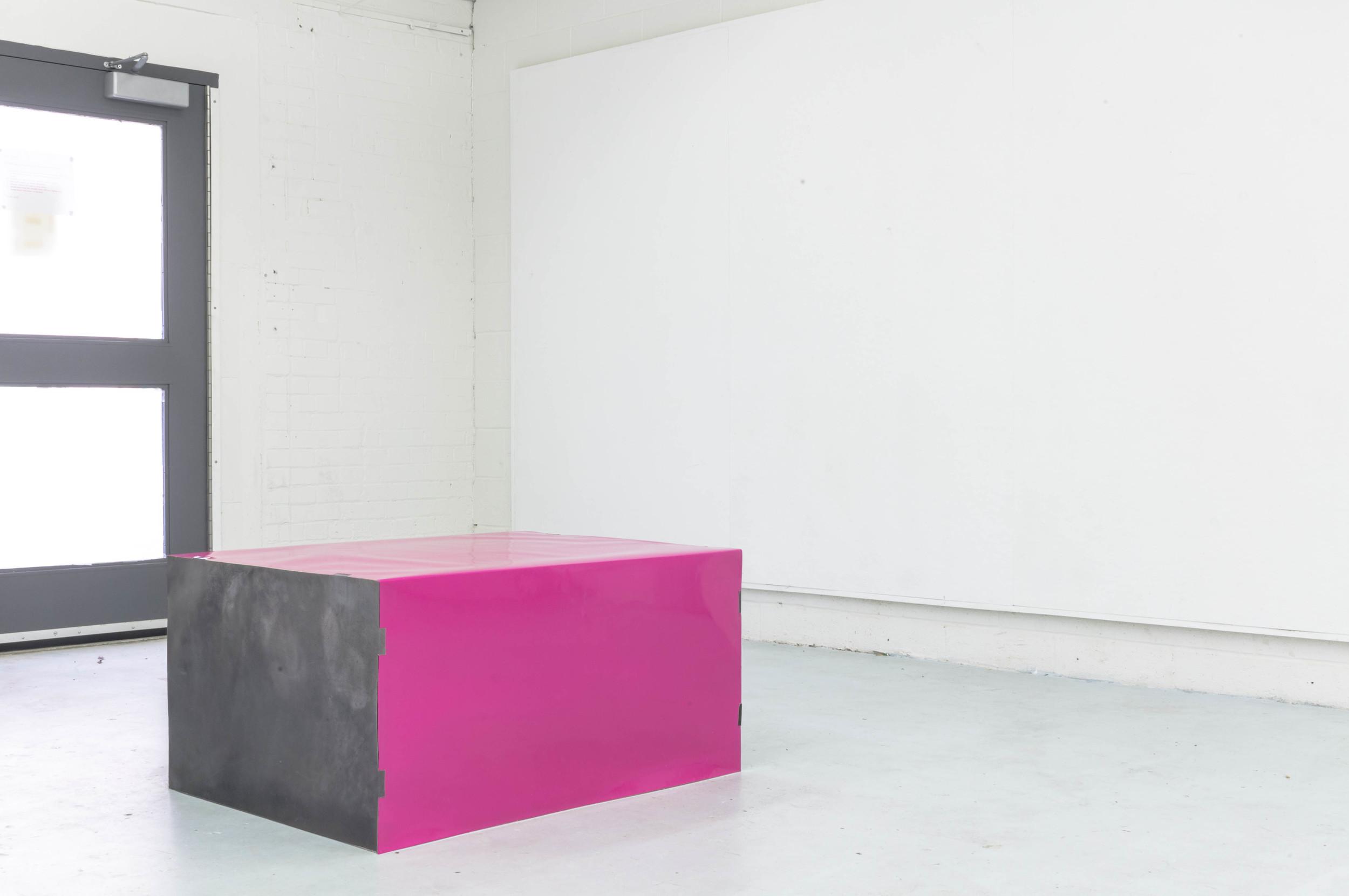 "Untitled (After Donald Judd)  2014 20x30x40"" C-Prints, Foam Core"