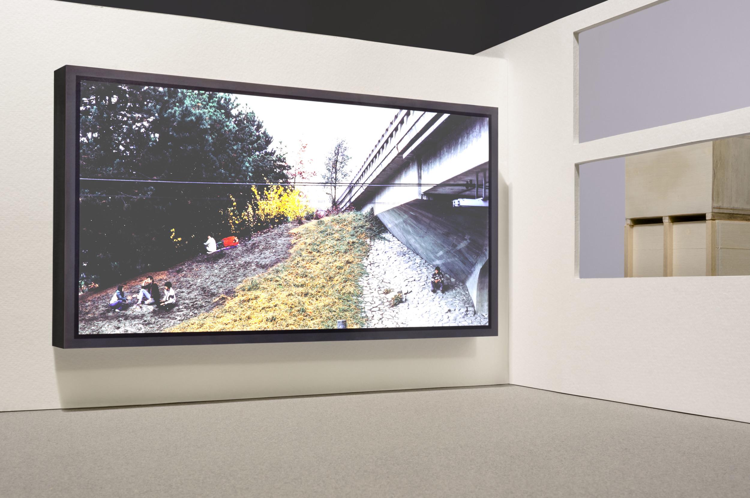 Jeff Wall at Documenta 8, 1987