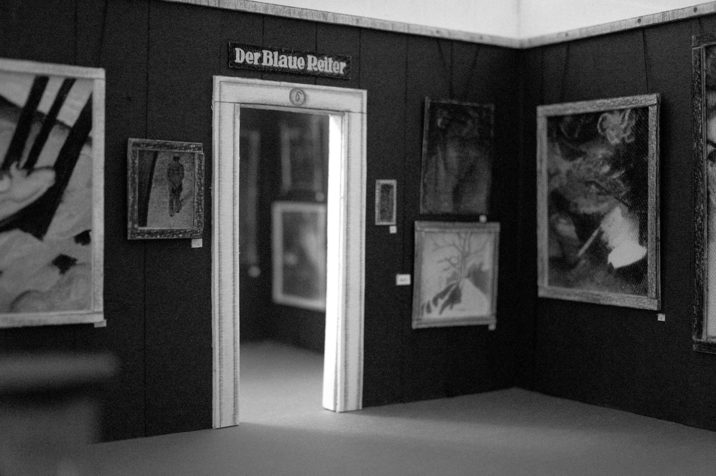 The First Der Blaue Reiter Exhibition , 1911-12