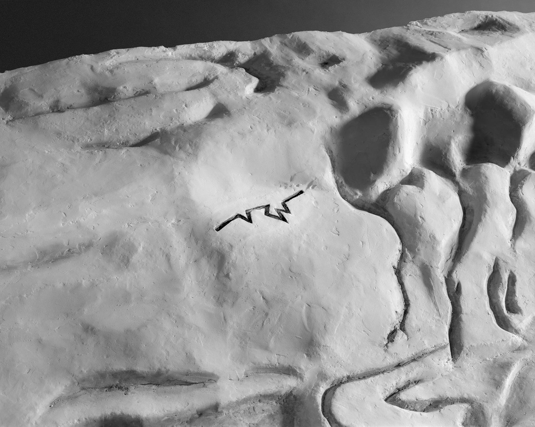 "Rift, Michael Heizer, Huwayjah, Iraq (May 2015) , 40x50"", 2015"