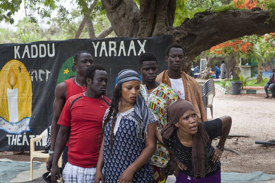 Theatre Forum Kàddu Yaraax , Dakar (Senegal)