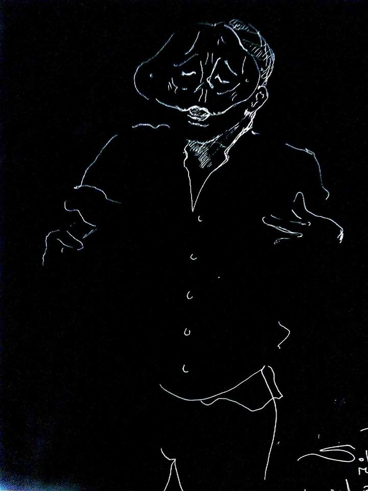 Tartaglia - Mask Commedia dell'Arte - Sartori