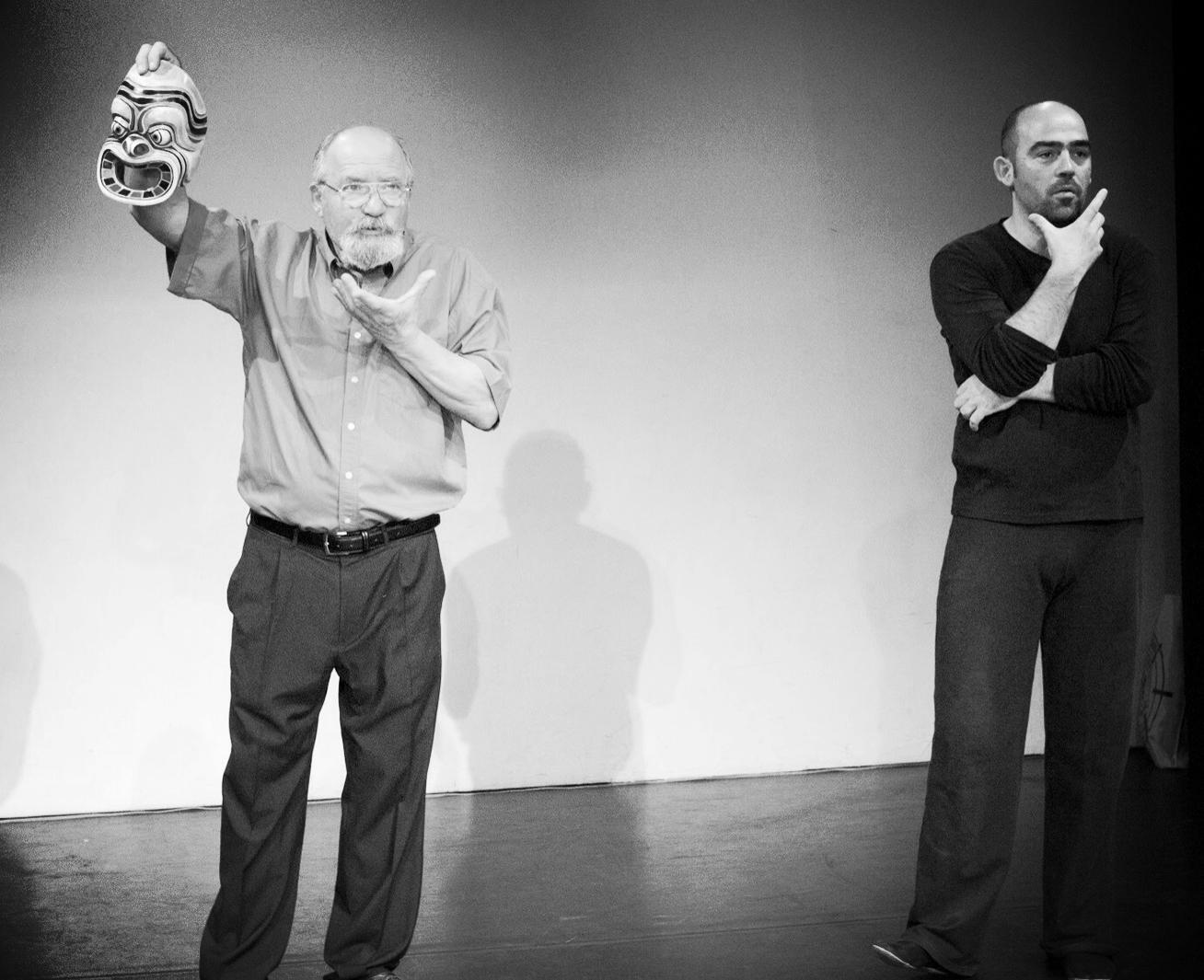 Donato Sartori and Carlos García Estévez, Amsterdam 2008