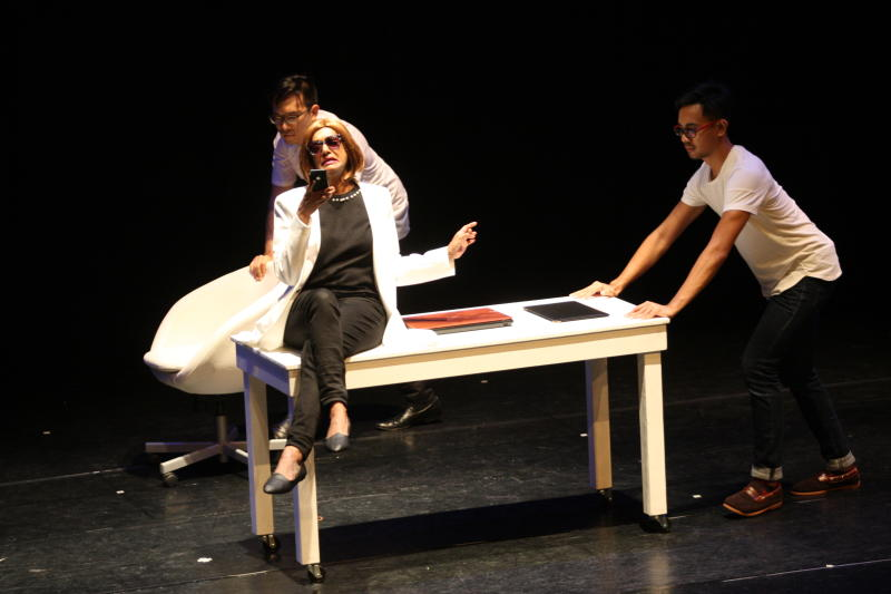 - 'We had to quickly learn not just the poetics of space but also the physical vocabulary of commedia dell'arte. Both of these anchor Carlos' approach to theatre,' reveals Kukathas.