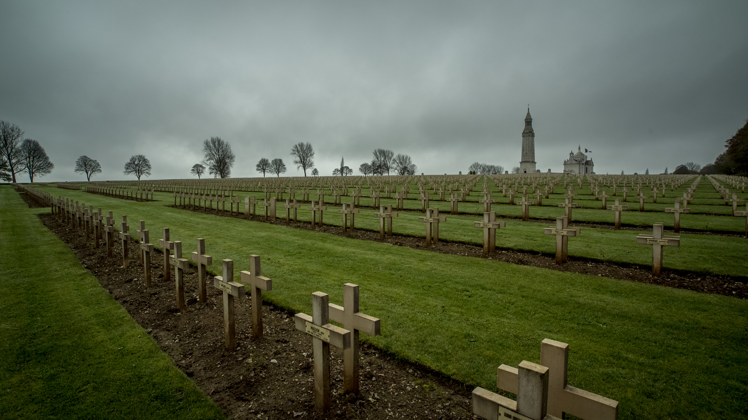 French WWI cemetery, Notre Dame de Lorette, near Arras, France  All photos by Mathew Knight