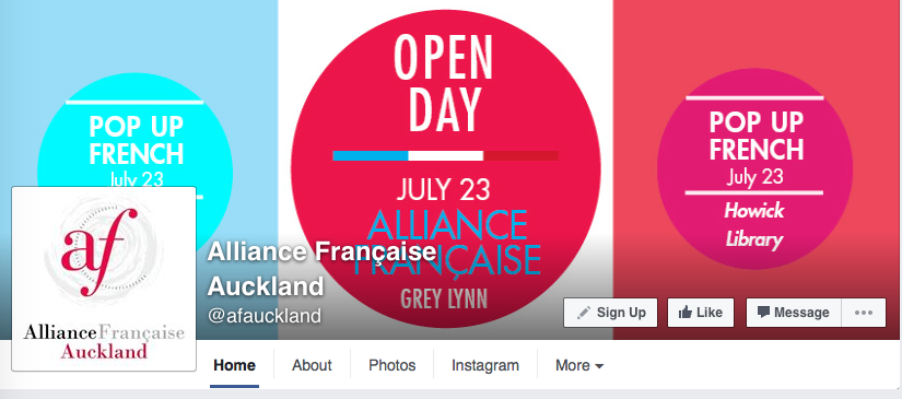 Alliance Française Auckland - FB post