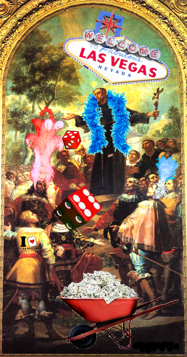 St Bernardino : patron saint of gambling
