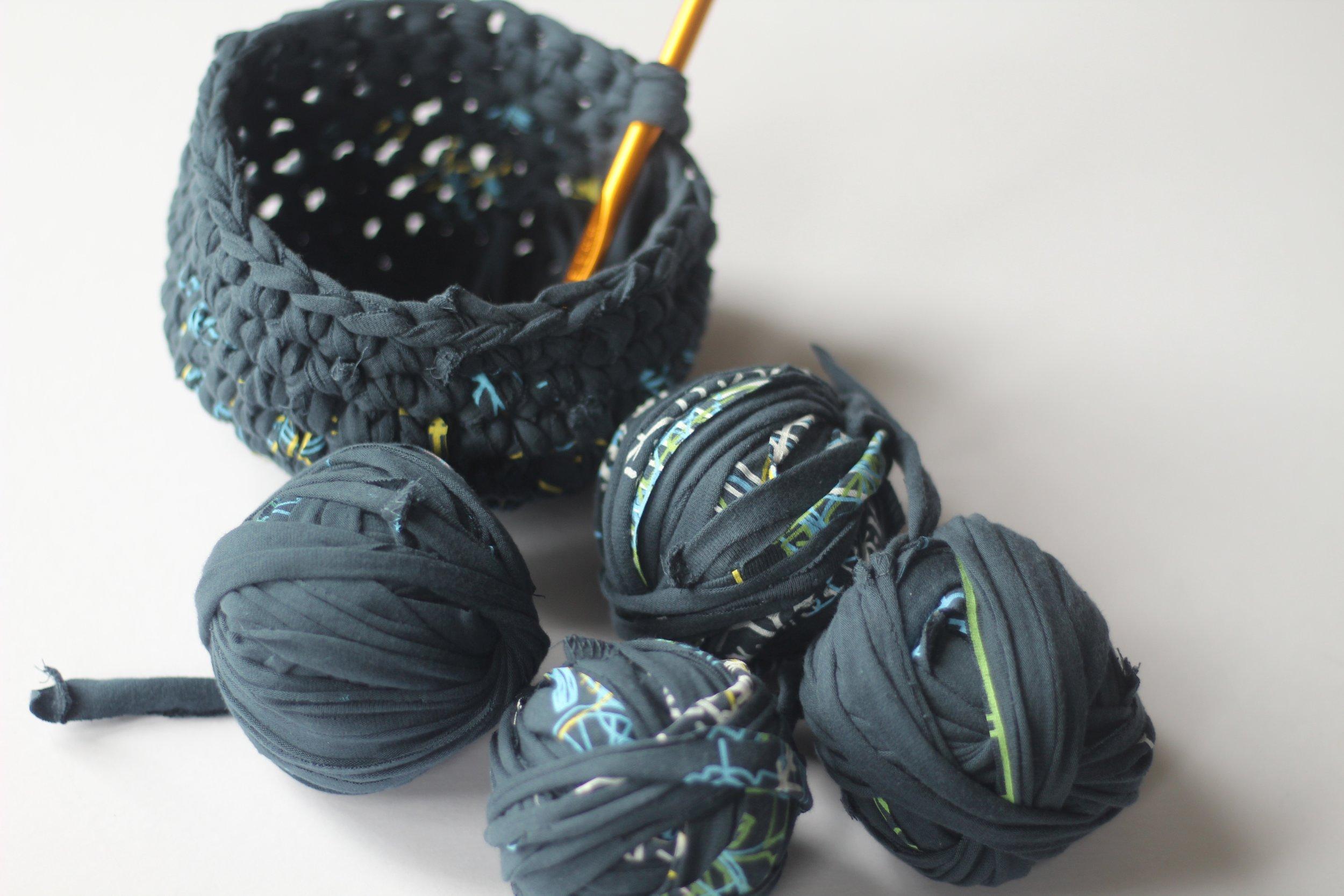 WIP and yarn