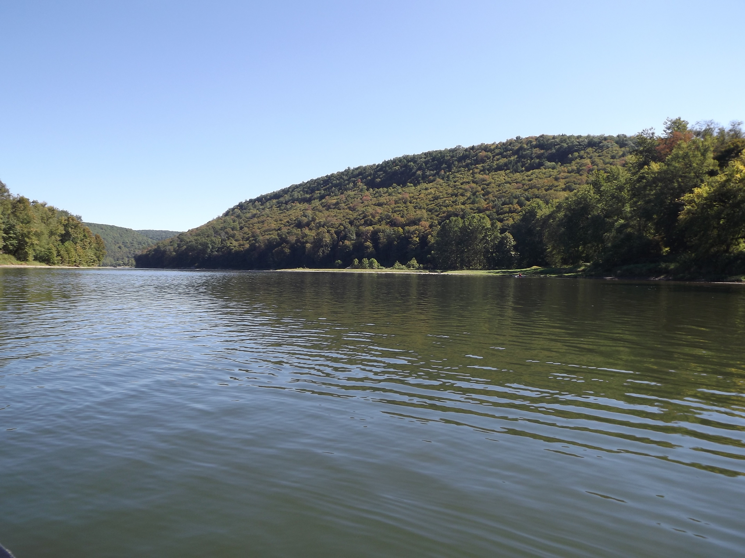 Allegheny River downstream from Kennerdell