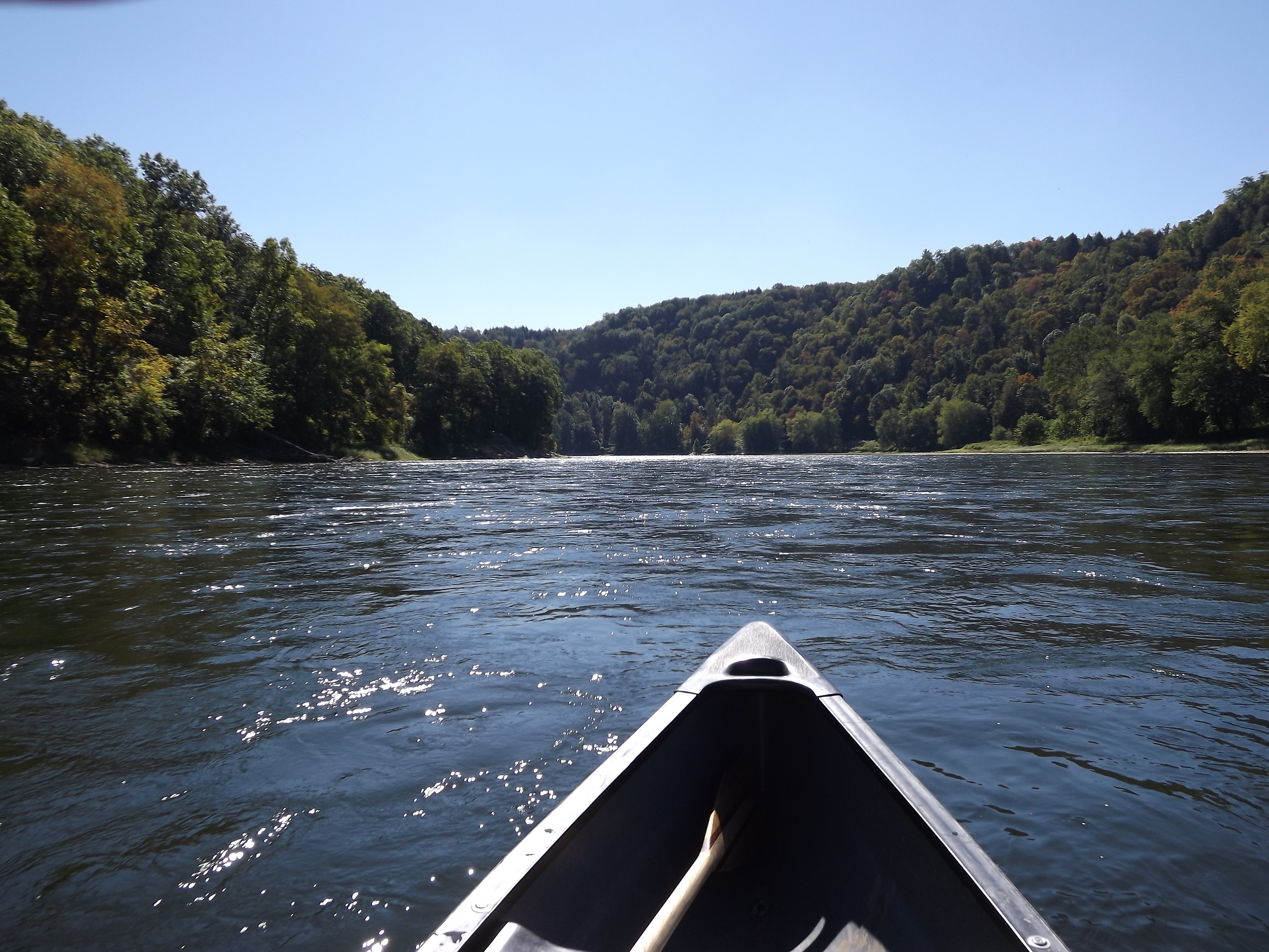 Allegheny River - Swifter section