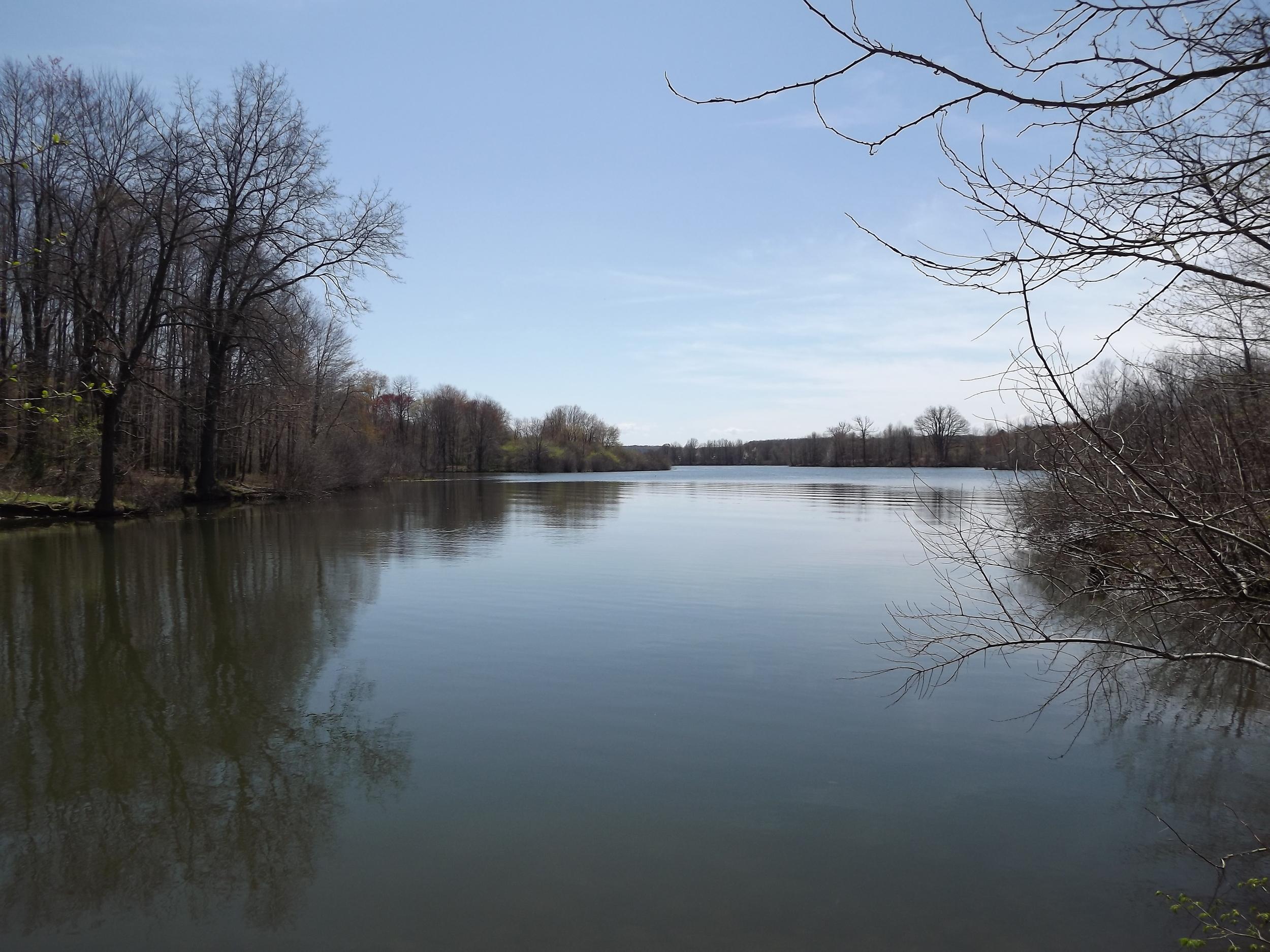 Lake Arthur (hidden river cove)