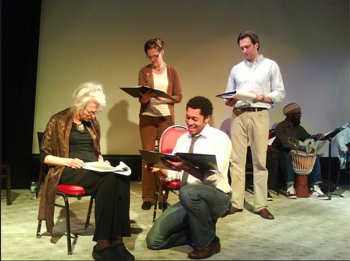 Lorraine Hansberry's LES BLANCS directed by Craig  Baldwin, 2010: (L-R) Judith Roberts, Christina Rouner, Keith Eric  Chappelle, Graham Rowat, Soulemane Yago