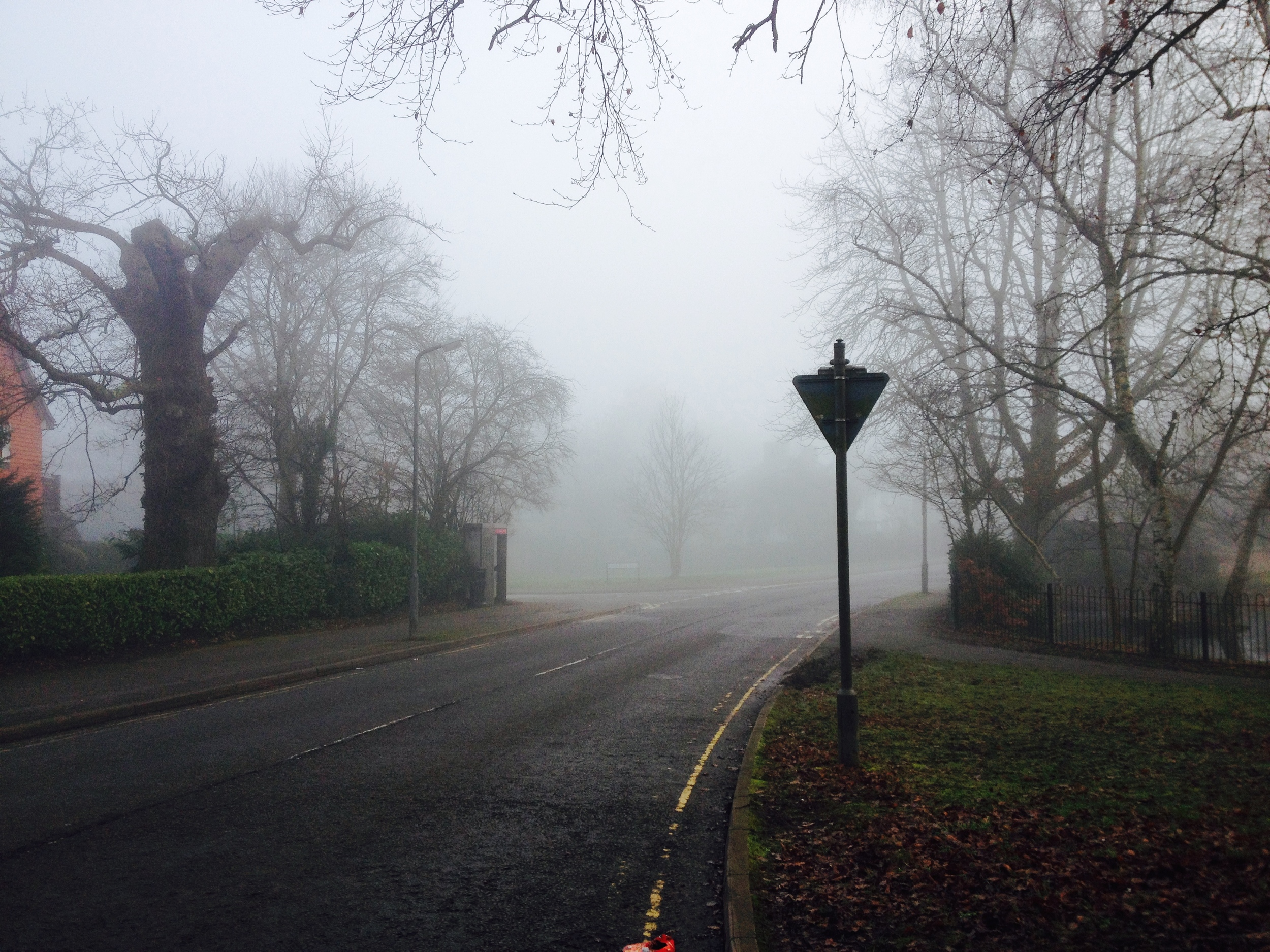 Not exactly London - this is Beaconsfield where I took a documentary shooting course back in January.