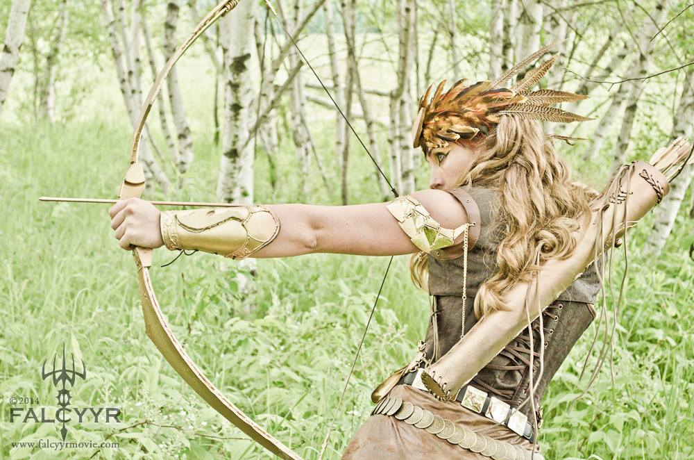 Costume for my part as Artemis, Goddess of the Hunt. Photo Credit: Sinari Diliiza of Unicovia Pictures