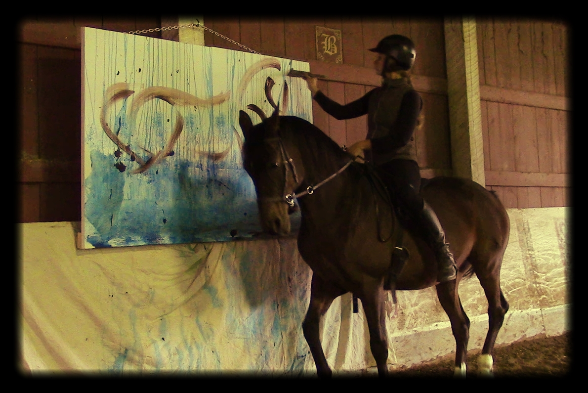Art on Horseback