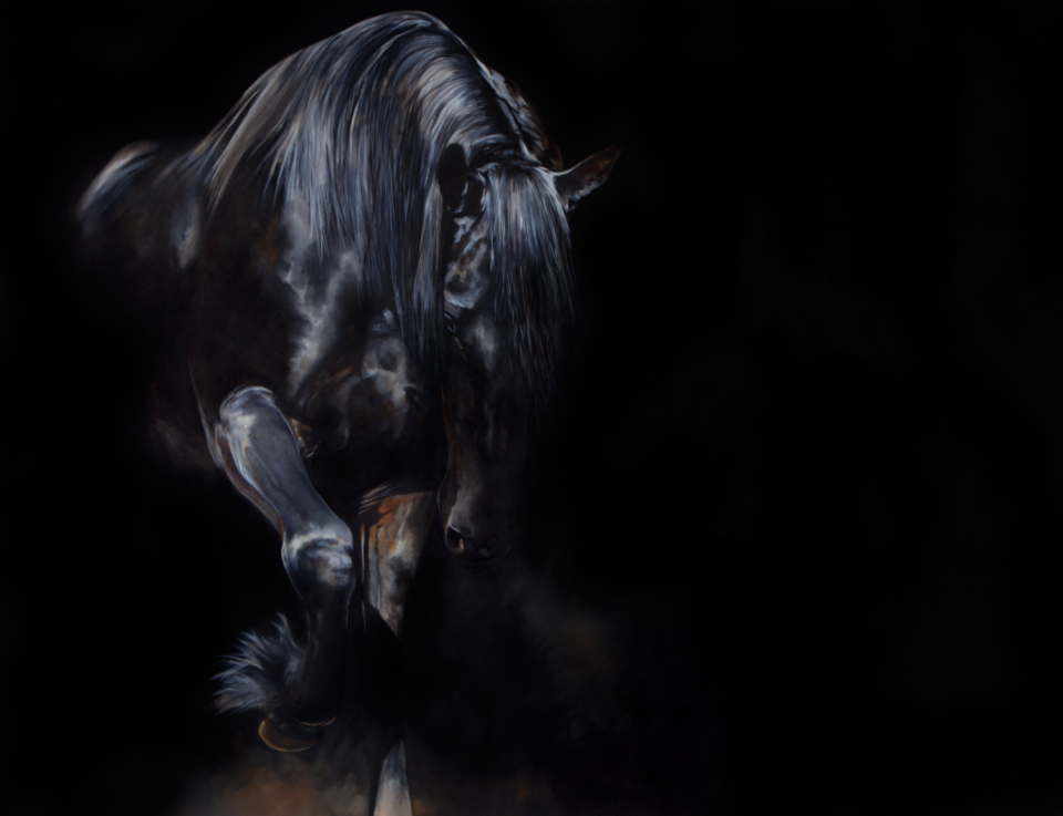 Click here to read her blog post about equine artist Tony O' Connor.