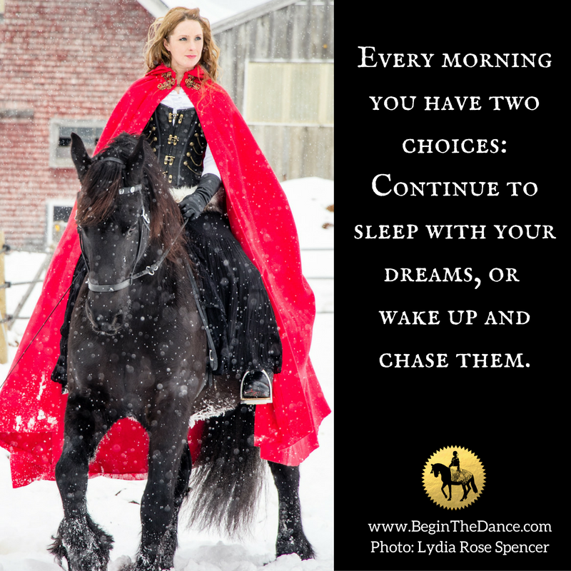 Learn how to plan a fantasy photo shoot with your horse.  click here