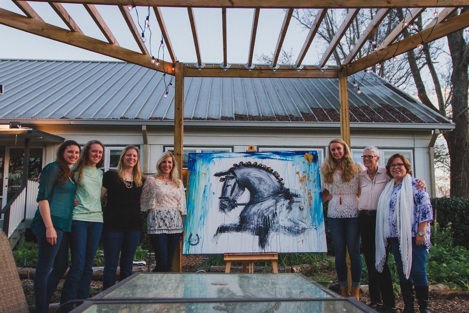 Art on Horseback Dinner at Backwoods Crossing 21.jpg