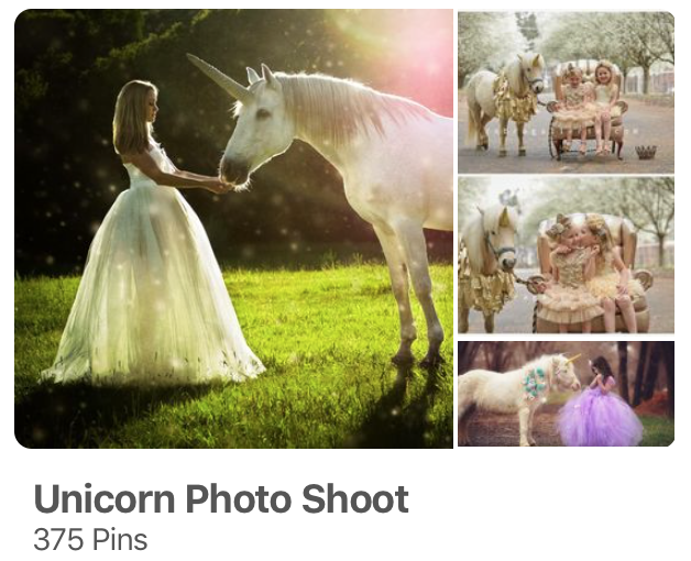 Unicorn Photo Shoot on Pinterest
