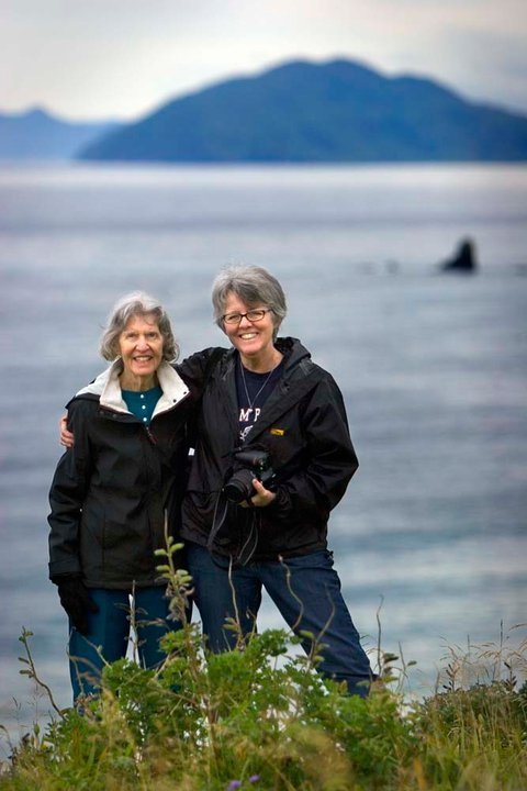 Candy and Chris in Kodiak. * photo by Jaime Kujala*