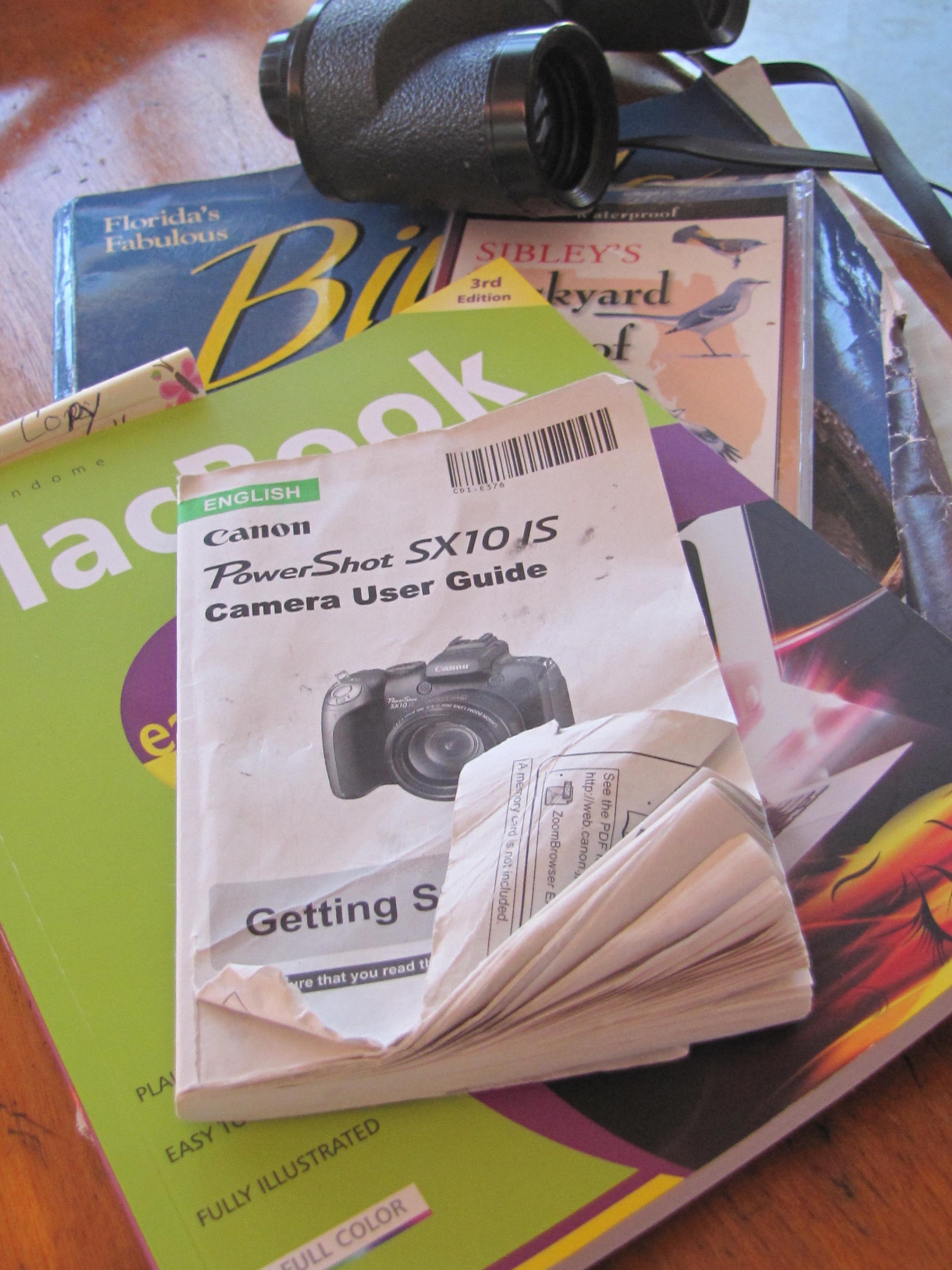 SO many manuals..