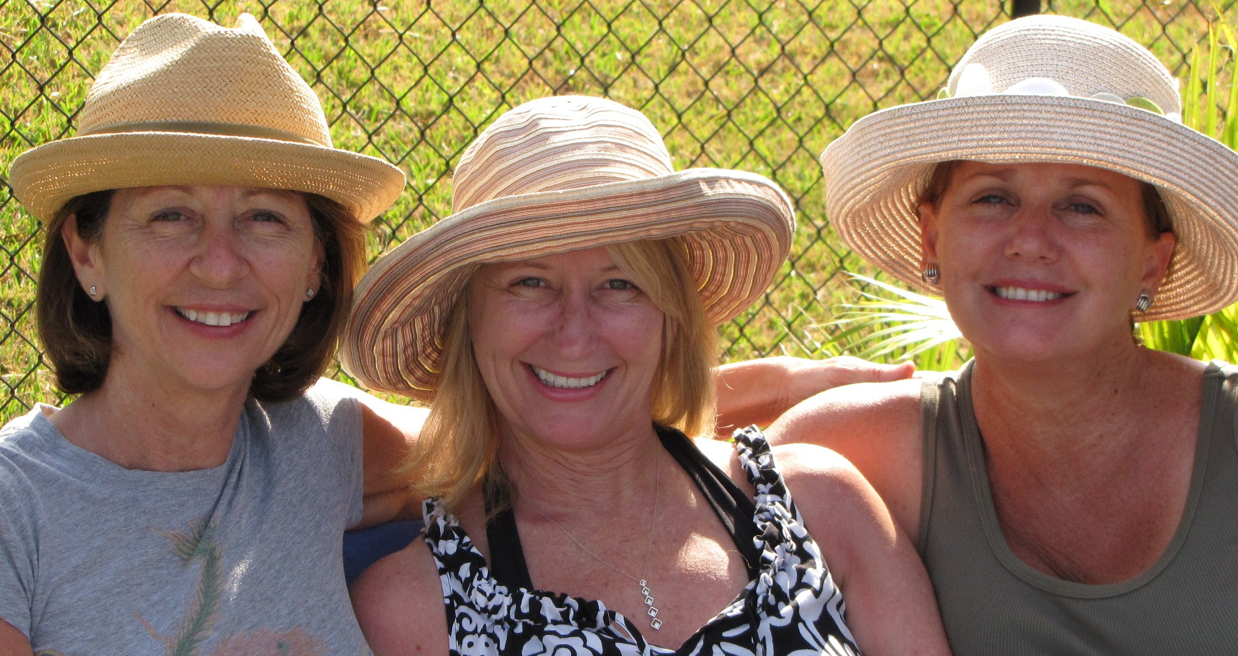 Diane, Marci and yours truly just a few years ago.