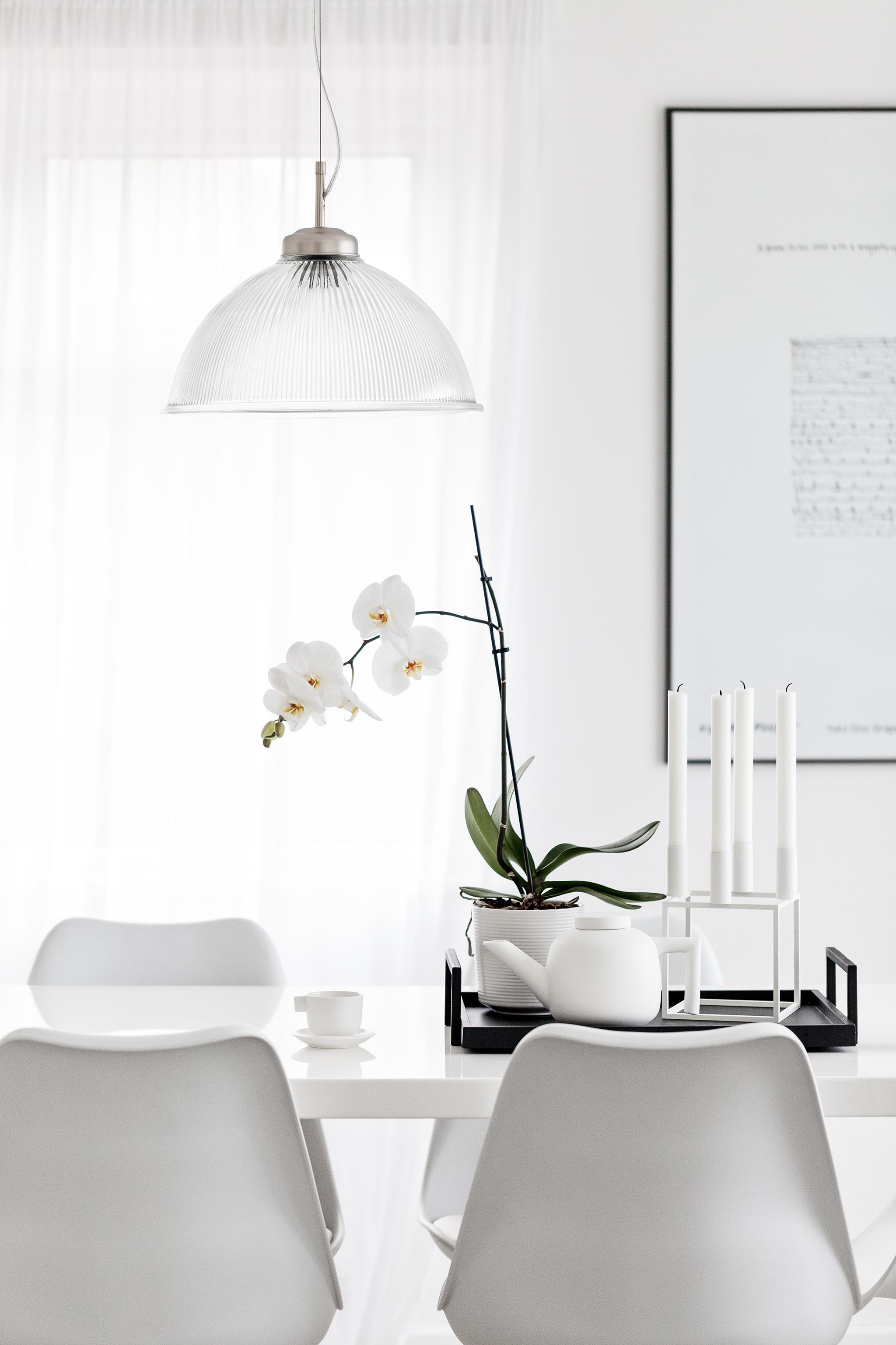 White Catherine Lovatt Teapot set from   Serax Belgium   | Kubus ByLassen Candleholder from   Made Modern