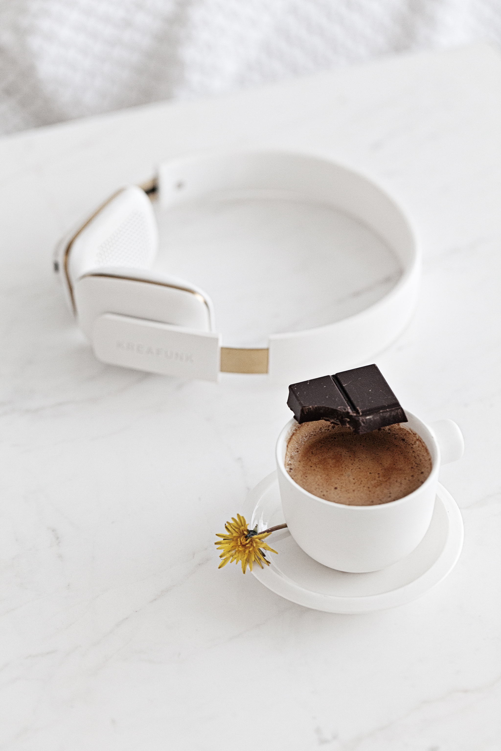Mocha Cortado | Headphones from   Kreafunk   | Ceramic Cup from   Serax