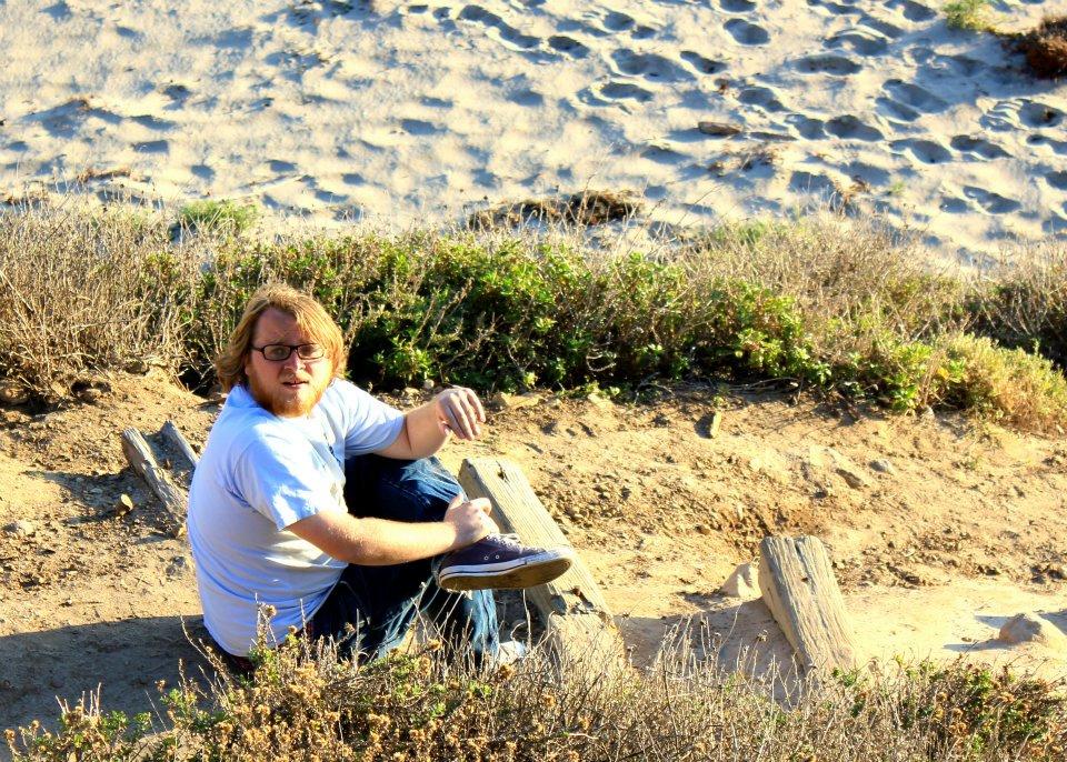 Tyler Nisbet while shooting Summer Dream in Malibu.  photo credit: Kelly Slachman