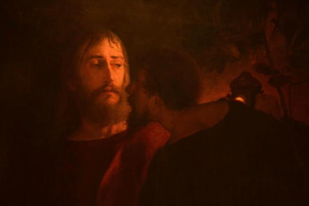 Judas Iscariot by Eilif Peterssen
