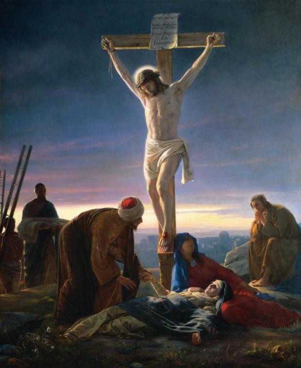 Christ on the Cross, Carl Heinrich Bloch
