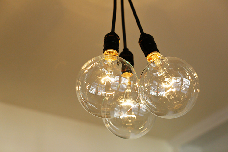 annex retro light fixture