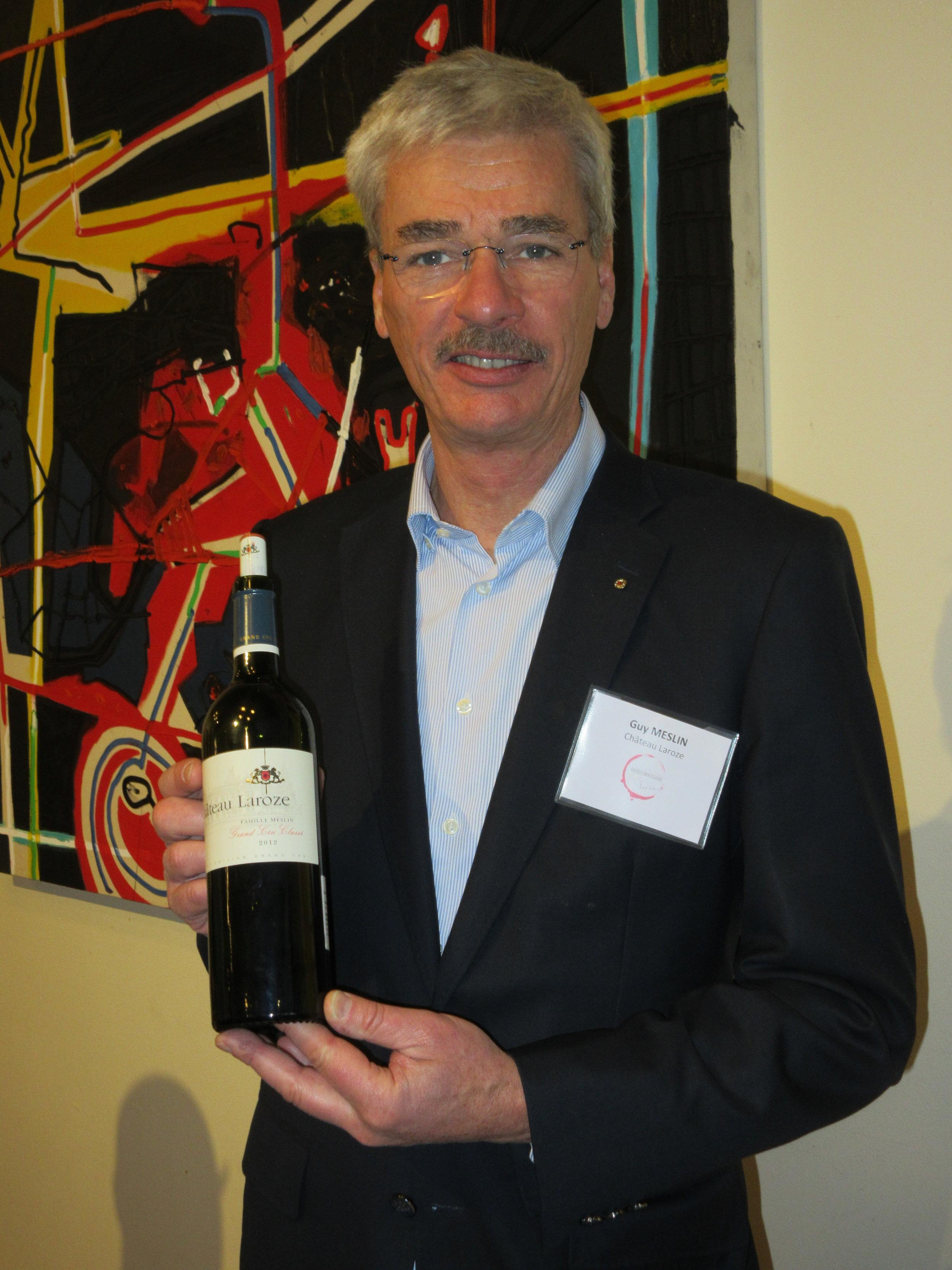 Guy Meslin of Chateau Laroze