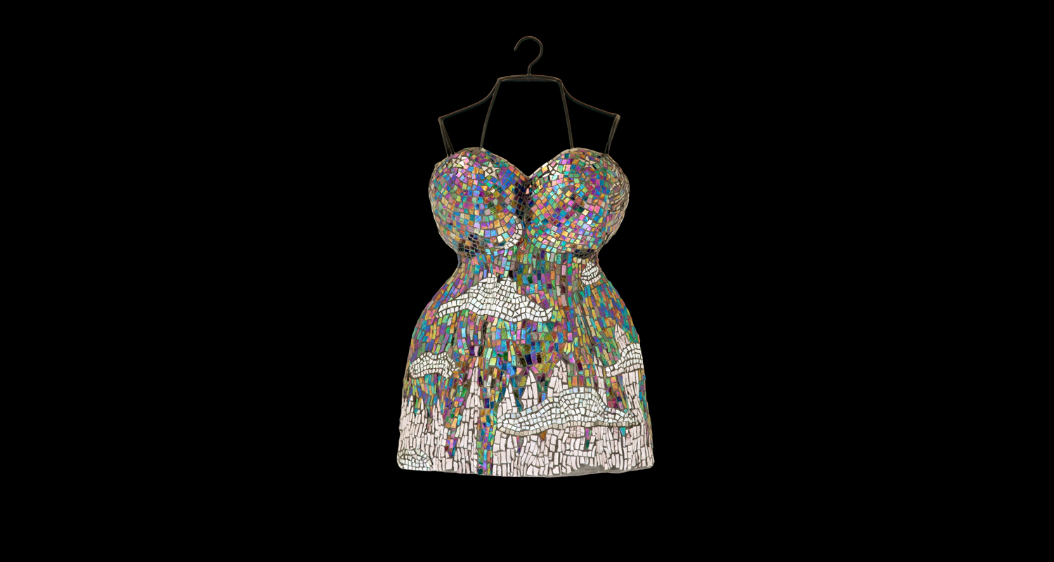 Nightie-Nite: Mosaic Sculpture