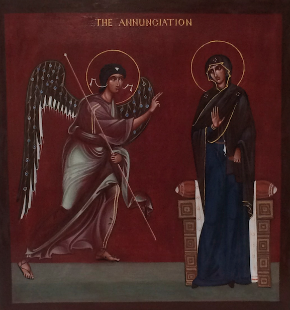 The Annunciation by Philip Davydov