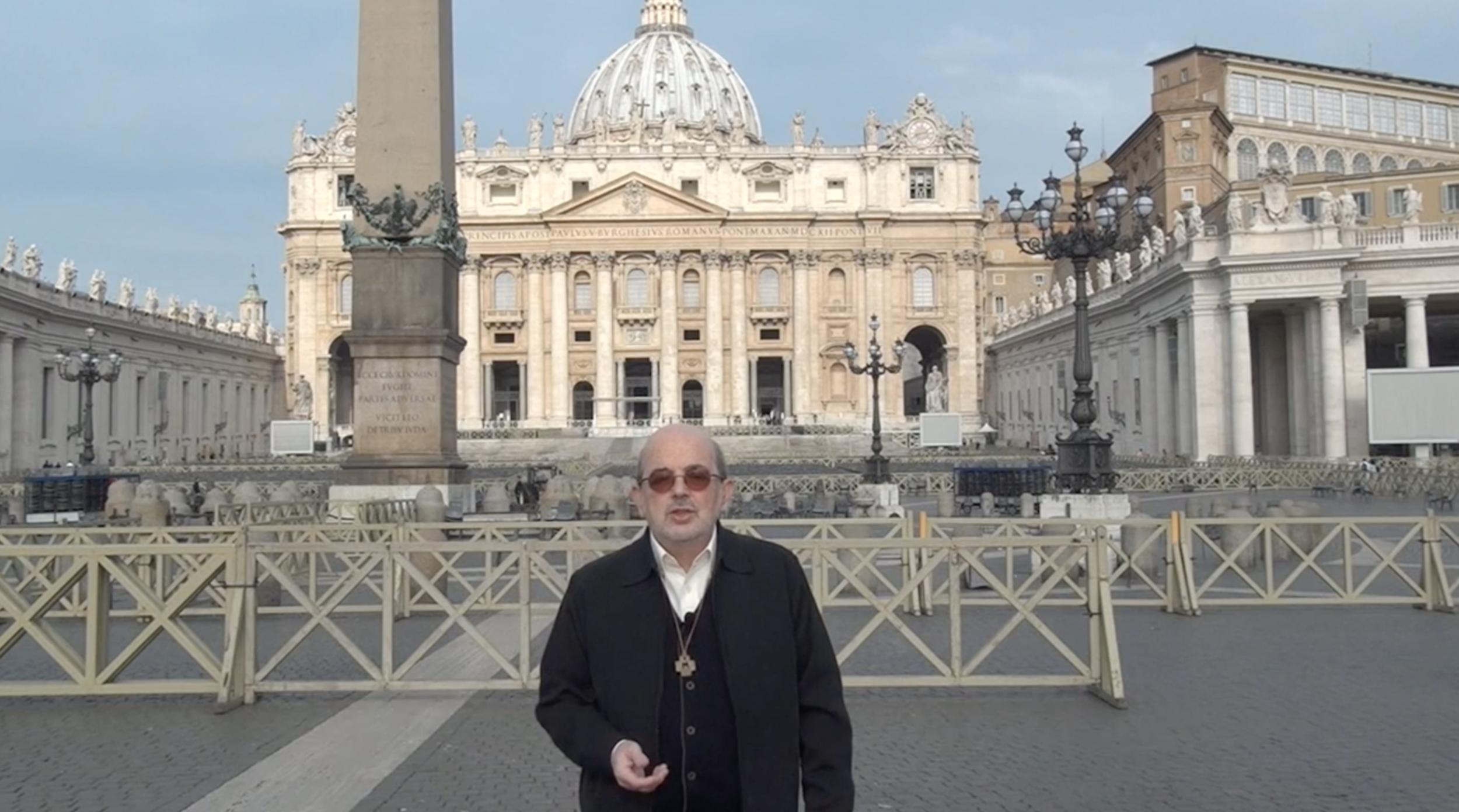 Marist Superior General, Br Emili Turú introducing his Champagnat Day video