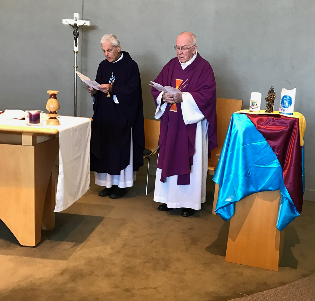 Celebrants Frs Pieter Ferwerda and Pat Harvey