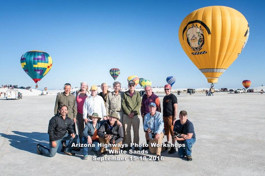 White Sands NM Balloon Festival New Mexico