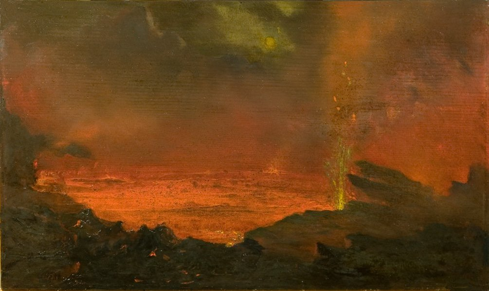 Lake of Fire , David Howard Hitchcock, 1888