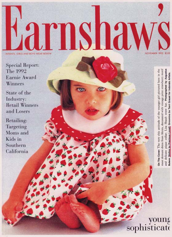 Earnshaw's Magazine      Young Sophisticates   Photo Styling