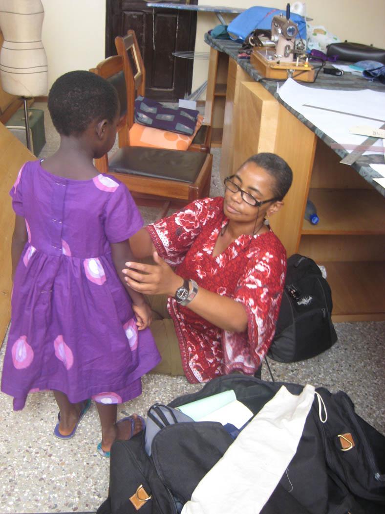 Global Mamas Garment Fitting